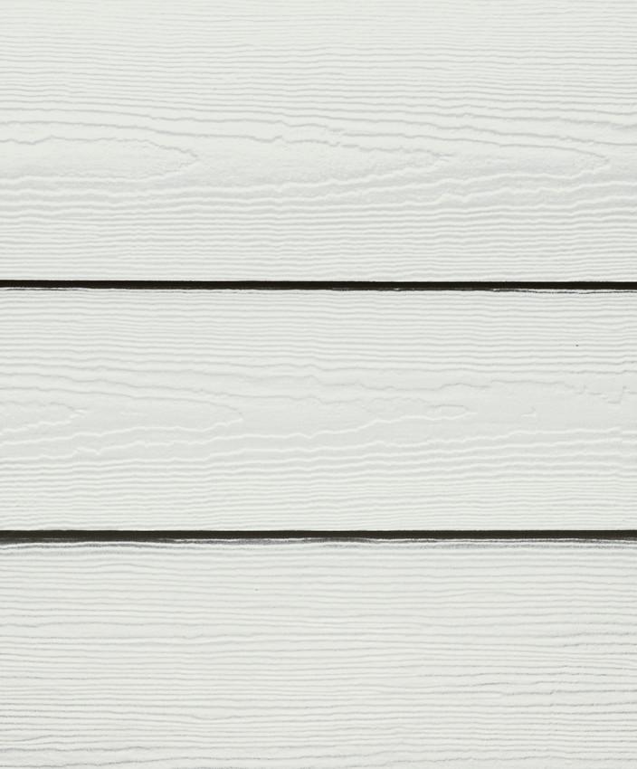 Select Cedarmill Timber Bark Siding Arctic White
